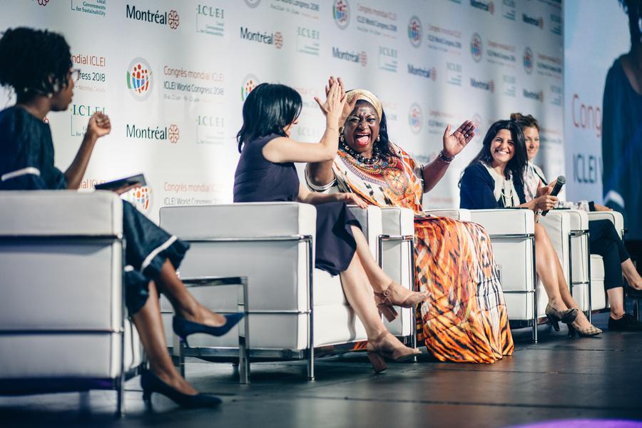 プレナリーセッション4 「持続可能な開発における女性のリーダーシップ」